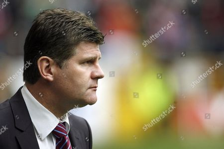 Burnley Manager Brian Laws United Kingdom Burnley