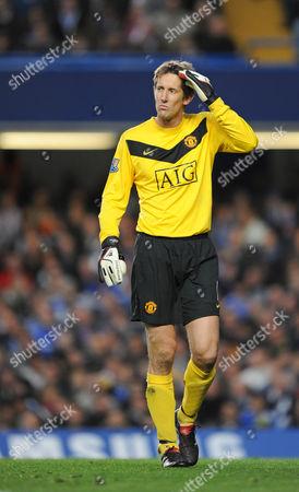 Edwin Van Der Saar of Manchester United United Kingdom London