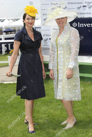 (l) Suzy Perry and (r) Clare Balding Tv Presenters United Kingdom London