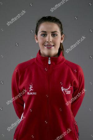 Mia Ritchie of England Netball