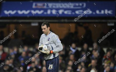 Ipswich Town Goalkeeper Marton Fulop United Kingdom Ipswich