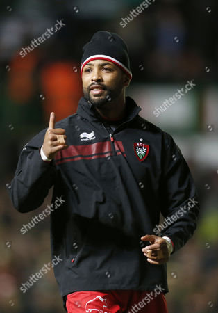 Rc Toulon's Delon Armitage Warms Up United Kingdom Aylestone Rd, Leicester