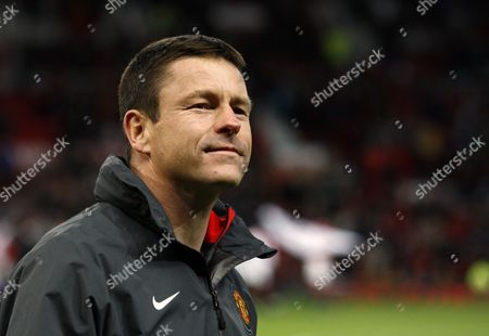 Manchester United Youth Manager Paul Mcguinness United Kingdom Manchester