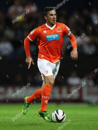 Barry Ferguson of Blackpool United Kingdom Preston
