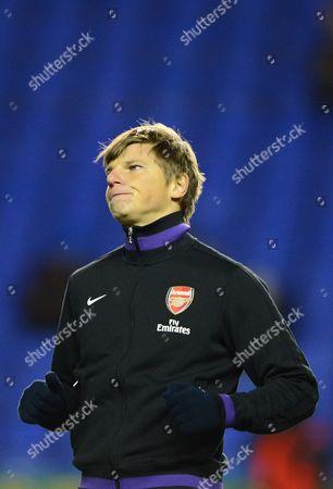 Andrey Arshavin of Arsenal United Kingdom Reading