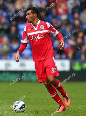 Jay Bothroyd of Queens Park Rangers United Kingdom Reading