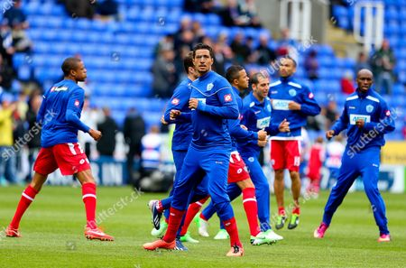 Jay Bothroyd of Queens Park Rangers During the Warm Up United Kingdom Reading