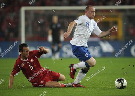 Editorial photo of Switzerland V England - 07 Sep 2010