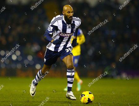 Nicolas Anelka of West Bromwich Albion Gb Birmingham