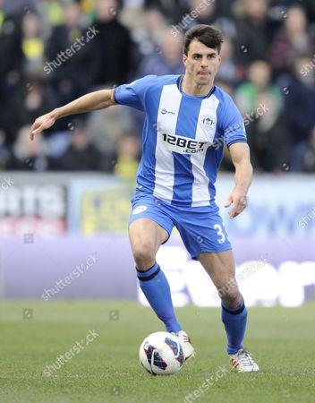 Paul Scharner of Wigan Athletic United Kingdom Wigan