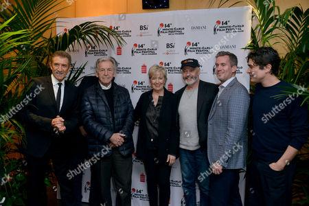 Ezio Greggio, John Landis, Costantonos Costa-Gavras, Piera Detassis, Michael Radford, Riccardo Scamarcio