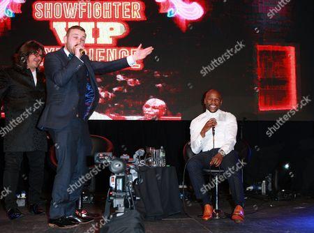 Floyd Mayweather Jr and Al Foran