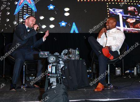 Editorial image of The Floyd Mayweather Las Vegas Ball, ICC, Birmingham, UK - 04 Mar 2017