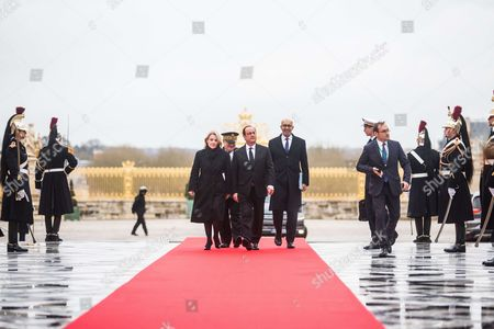Francois Hollande and Harlem Desir