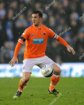 Barry Ferguson of Blackpool United Kingdom Birmingham