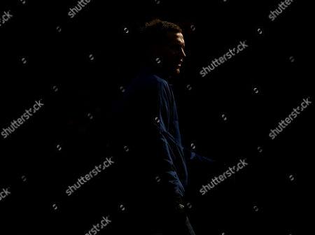 Morten Gamst Pedersen of Blackburn Rovers During the Pre Match Warm Up United Kingdom Blackburn