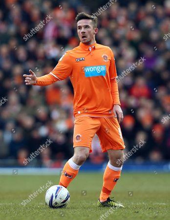 Barry Ferguson of Blackpool United Kingdom Blackburn
