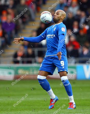 Marlon King of Birmingham City United Kingdom Blackpool