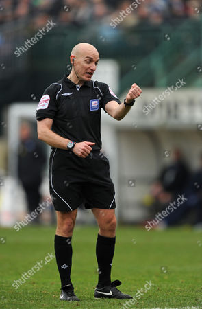 The Referee Steve Rushton United Kingdom Brighton