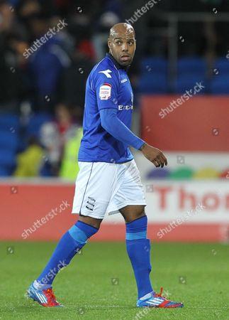 Stock Picture of Marlon King of Birmingham City United Kingdom Cardiff