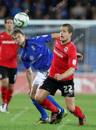 Editorial image of Cardiff City V Birmingham City - 02 Oct 2012