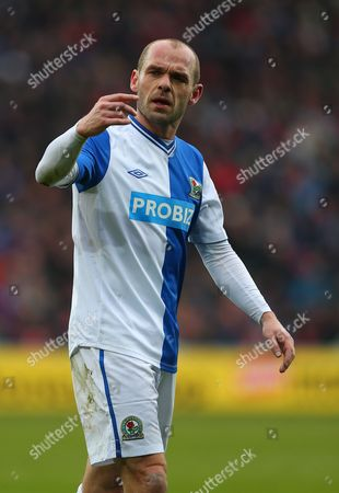 Danny Murphy of Blackburn Rovers United Kingdom Cardiff