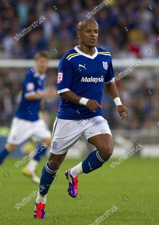Cardiff City Striker Robert Earnshaw United Kingdom Cardiff