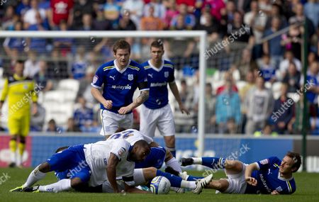 Editorial photo of Cardiff City V Leicester City - 25 Sep 2011