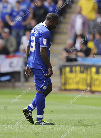 Leicester City's Darius Vassell is Sent Off United Kingdom Coventry
