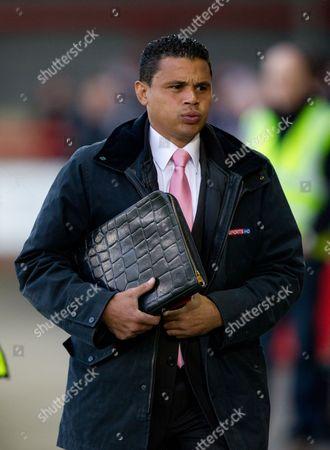 Sky Sports Pundit John Salako United Kingdom Crawley