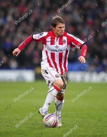 Bjorn Helge Riise of Sheffield United United Kingdom London