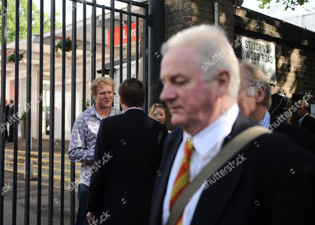 As Mcc Members Queue to Make Their Way Into Lord's Matthew Hoggard is Interviewed For Television Outside the Ground United Kingdom London