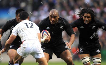 Editorial image of England V New Zealand - 29 Nov 2008