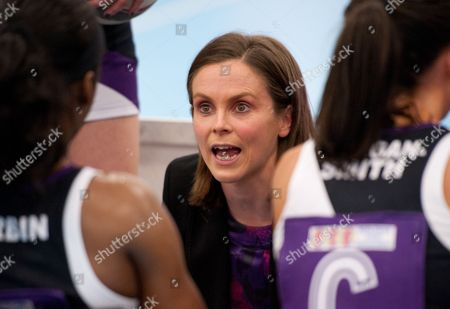 Hertfordshire Mavericks Head Coach Karen Atkinson United Kingdom Dagenham