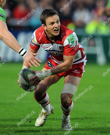 Rory Lawson of Gloucester Rugby United Kingdom Gloucester
