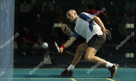 Ben Ford of England in Action During His First Round Match United Kingdom Manchester