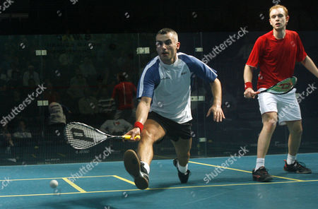 Ben Ford of England in Action During the First Round United Kingdom Manchester