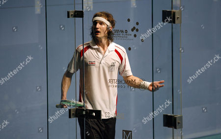 Jonathan Kemp of England Complains to the Referees During His Second Round Match United Kingdom Manchester