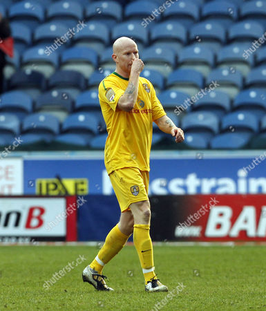 Lee Hughes of Notts County Looks Dejected United Kingdom Huddersfield