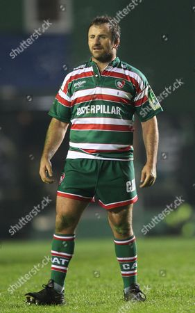 George Chuter of Leicester Tigers United Kingdom Leicester