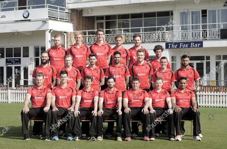 Back Row L to R: James Sykes Zak Chappell Alex Wyatt Oliie Freckingham Ben Raine Charlie Shreck Middle Row: Neil Pinner Angus Robson Dan Redfearn Atif Sheikh Rob Sayer Lewis Hill Aadil Ali Front Row: Tom Wells Rob Taylor Matthew Boyce Ned Eckersley Mark Cosgrove (captain) Jigar Naik Niall O'brien United Kingdom Leicester
