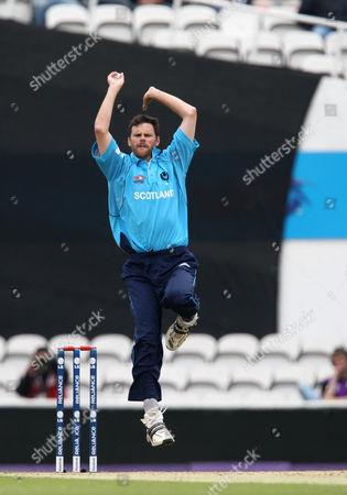 Scotland Twenty20 Bowler Craig Wright United Kingdom London