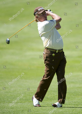Stock Picture of Miguel Angle Jimenez of Spain