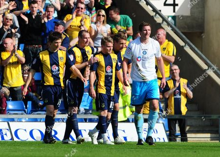 Editorial photo of Oxford United V Wycombe Wanderers - 09 Apr 2011