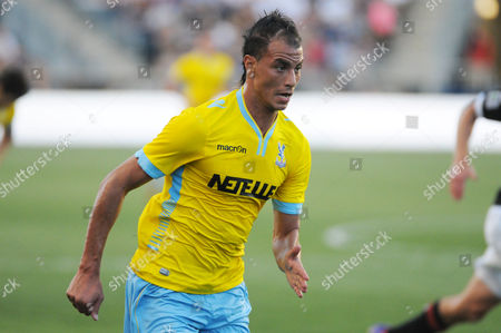 Stock Picture of Marouane Chamakh Crystal Palace Uk Sales Only