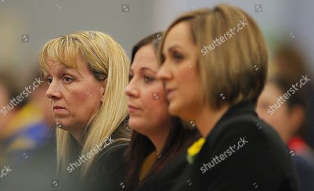 Northern Thunder Team Manager Estelle Graham (left) Looks On Alongside Assistant Coach Suzy Chapman and Coach Tracey Neville United Kingdom Bath
