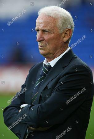 Republic of Ireland Manager Giovanni Trapattoni United Kingdom Cardiff