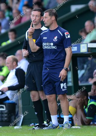 Editorial photo of Yeovil Town V Afc Bournemouth - 08 Sep 2012