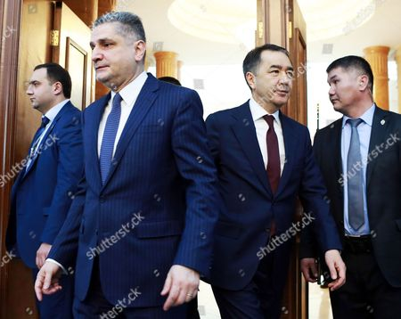 Editorial photo of Eurasian Intergovernmental Council session in Bishkek, Kyrgyzstan - 07 Mar 2017