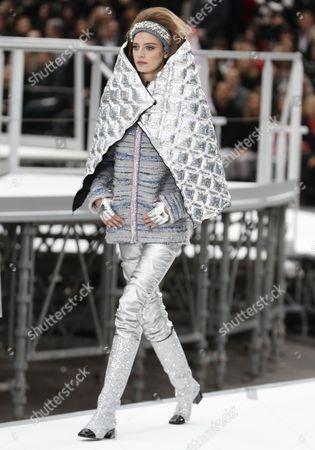 Editorial photo of Chanel - Runway - Ready to wear Paris Fashion Week F/W 2017/18, France - 07 Mar 2017